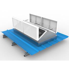 LN-三角型排烟天窗(阳光板)